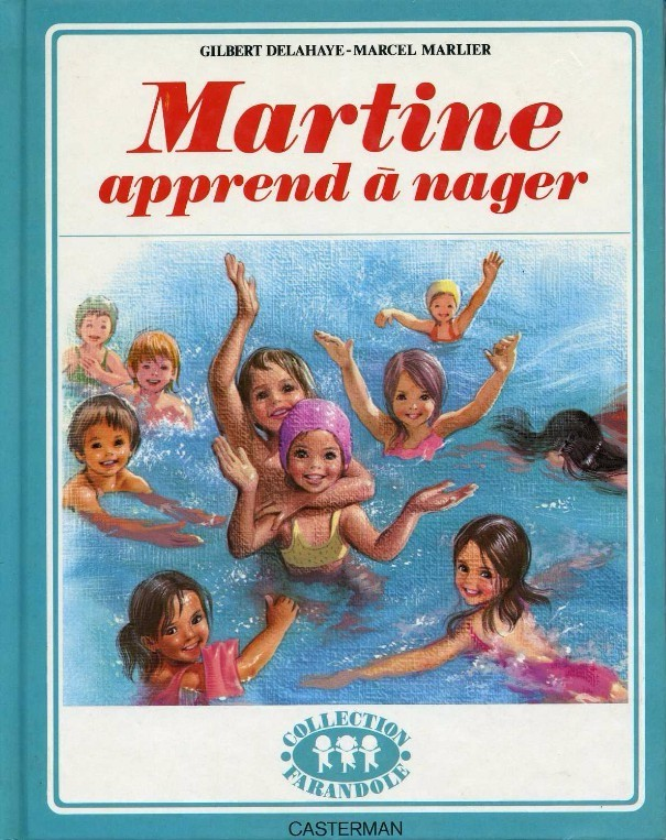 Couverture de Martine -25a- Martine apprend à nager