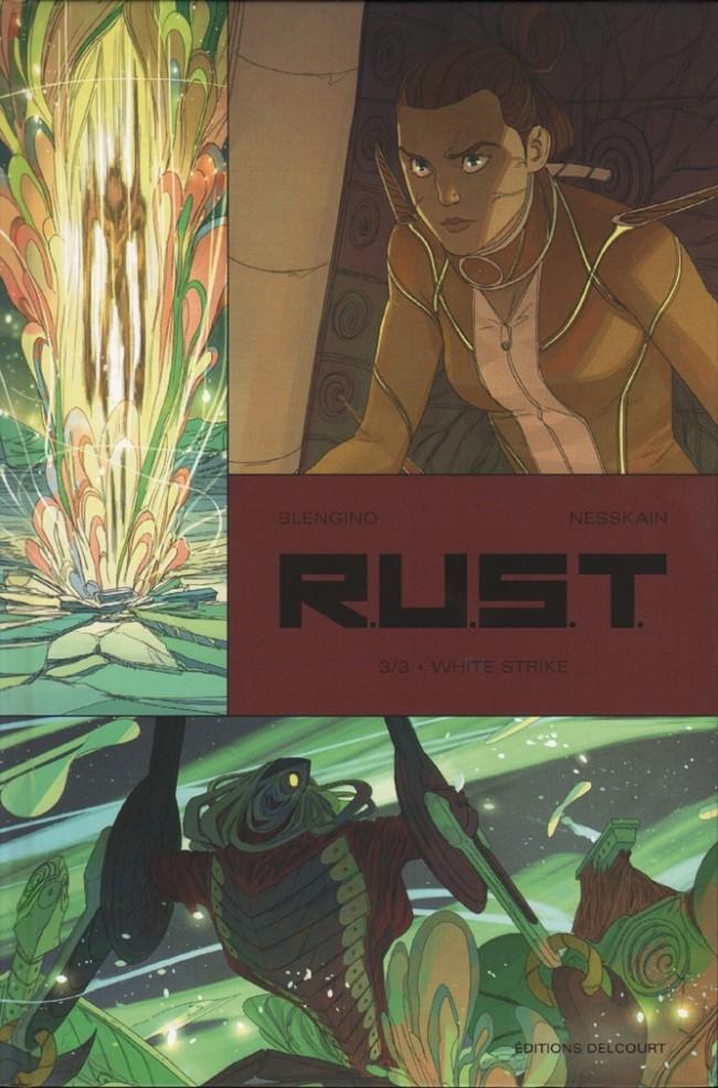 Couverture de R.U.S.T. -3- White strike