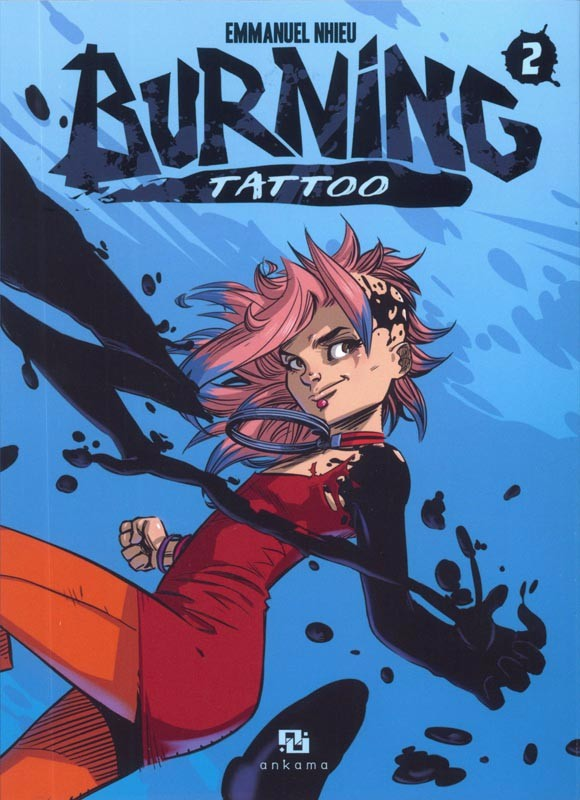 Couverture de Burning Tattoo -2- Tome 2