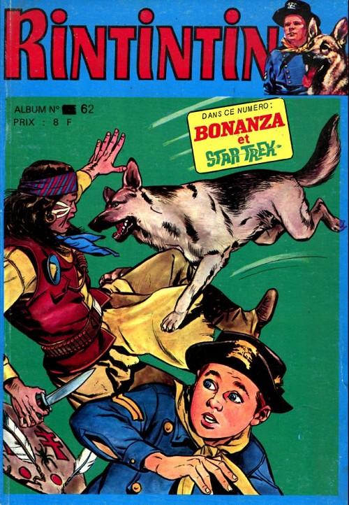 Couverture de Rin Tin Tin & Rusty (2e série) -Rec62- Album N°62 (du n°107 au n°109)