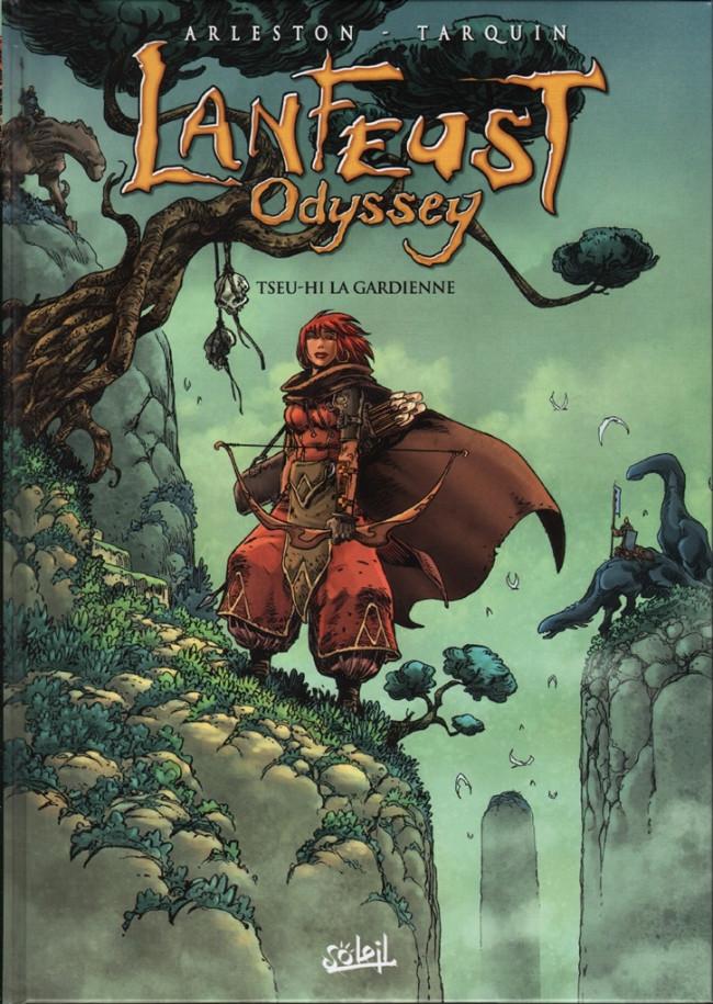Couverture de Lanfeust Odyssey -8- Tseu-Hi la Gardienne