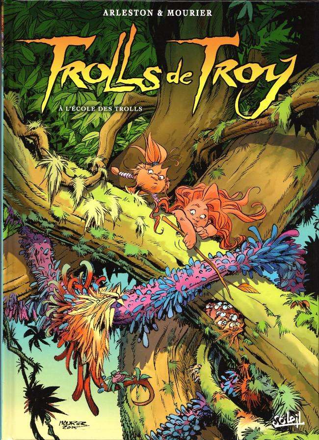 Couverture de Trolls de Troy -22- À l'école des trolls