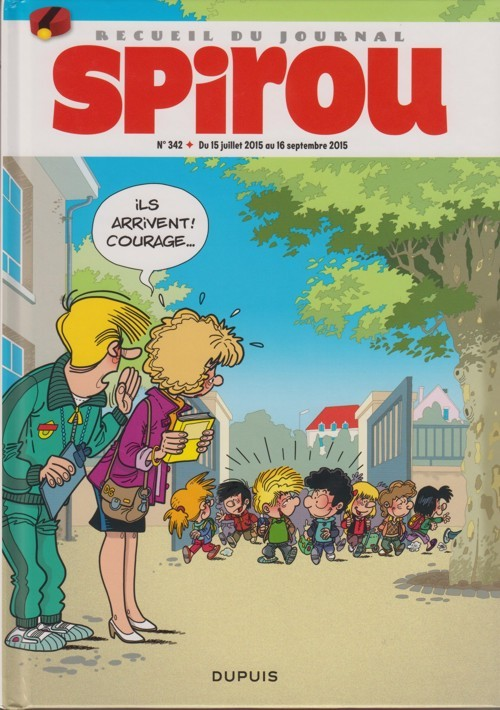 Couverture de (Recueil) Spirou (Album du journal) -342- Spirou album du journal