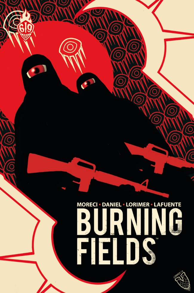 Couverture de Burning Fields