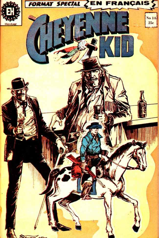 Cheyenne Kid (Éditions Héritage)