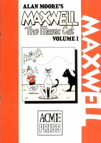 Couverture de Alan Moore's Maxwell The Magic Cat -1- Volume 1