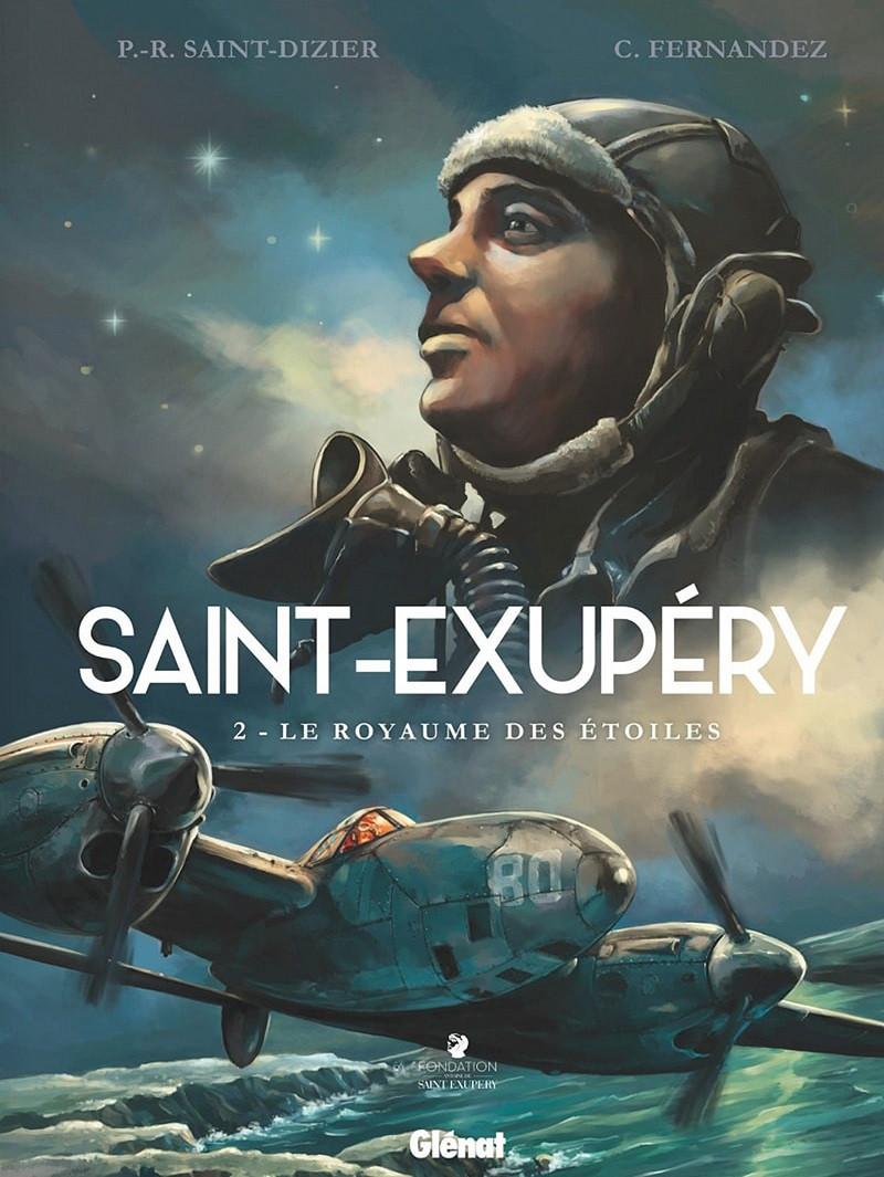 Couverture de Saint-Exupéry (Fernandez) -2- Le royaume des étoiles