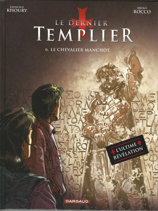Couverture de Le dernier templier -6- Le Chevalier manchot