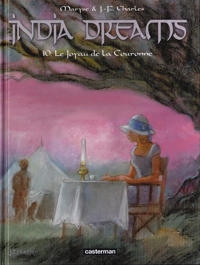 Couverture de India dreams -10- Le Joyau de la Couronne