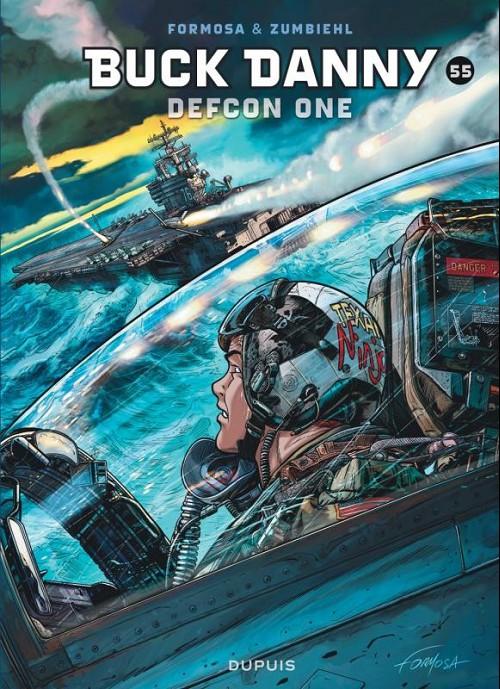 Couverture de Buck Danny -55- Defcon one