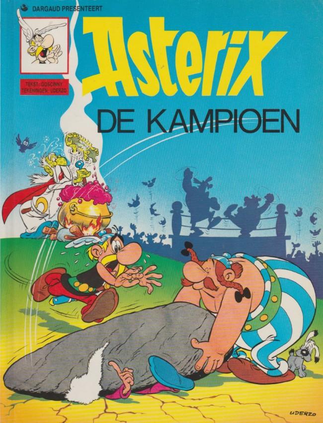 Couverture de Astérix (en néerlandais) -3- Asterix de kampioen