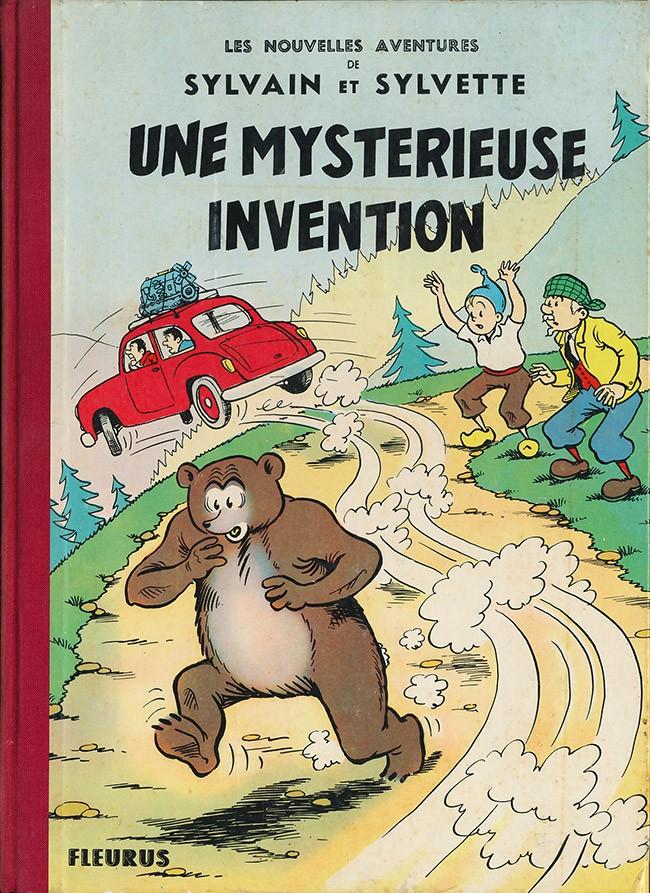 Couverture de Sylvain et Sylvette (02-série : nouvelles aventures de Sylvain et Sylvette) -10- Une mystérieuse invention