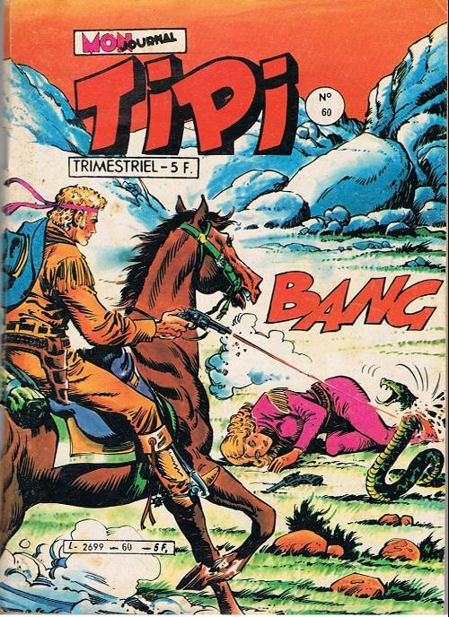 Couverture de Tipi -60- Kris le shérif : le petit joe