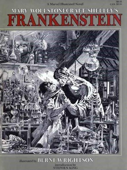 Couverture de (AUT) Wrightson (en anglais) - Frankenstein