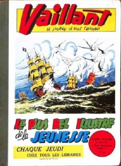 Couverture de (Recueil) Vaillant (Album du Journal - 1re série) -10- N° 266 à 279