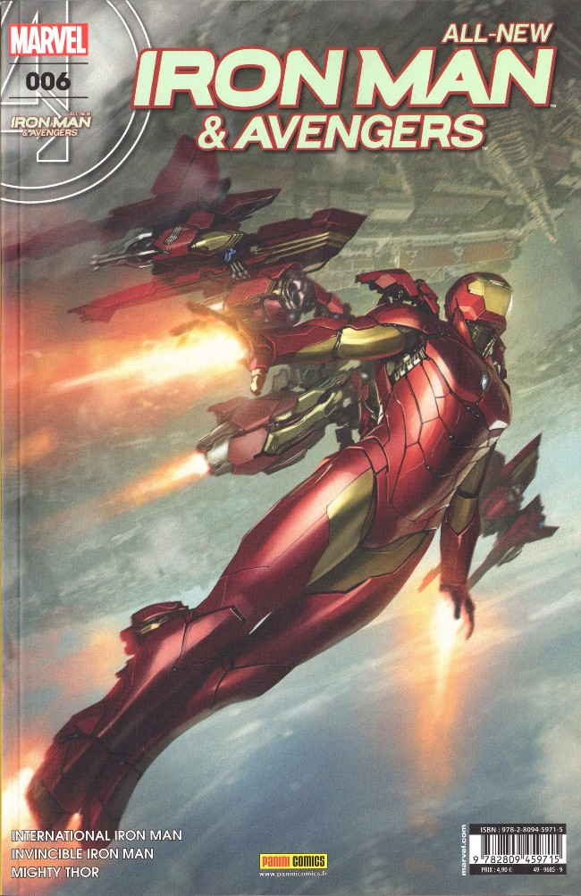 Couverture de All-New Iron Man & Avengers -6- Le plus fort viking du monde