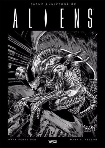 Couverture de Aliens : La série originale -INT- Aliens 30eme anniversaire - Édition Hardcore