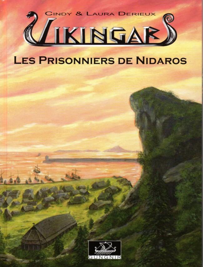 Couverture de Vikingar -3- Les Prisonniers de Nidaros