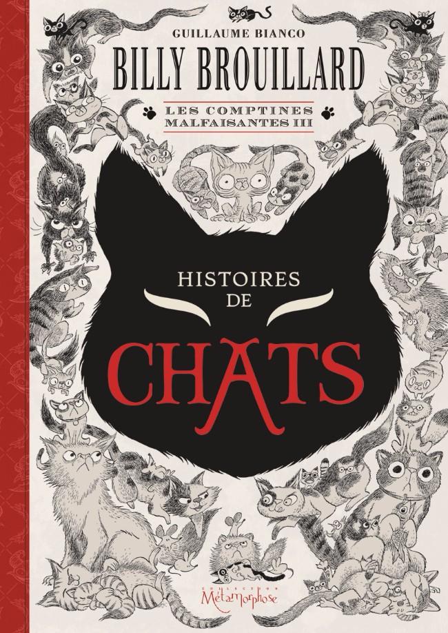 Couverture de Billy Brouillard -HS3- Les Comptines malfaisantes III - Histoires de chats