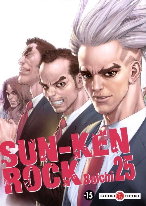 Couverture de Sun-Ken Rock -25- Tome 25