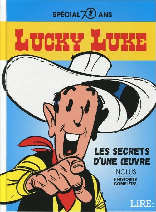 Couverture de Lucky Luke -HS07- Les secrets d'une œuvre