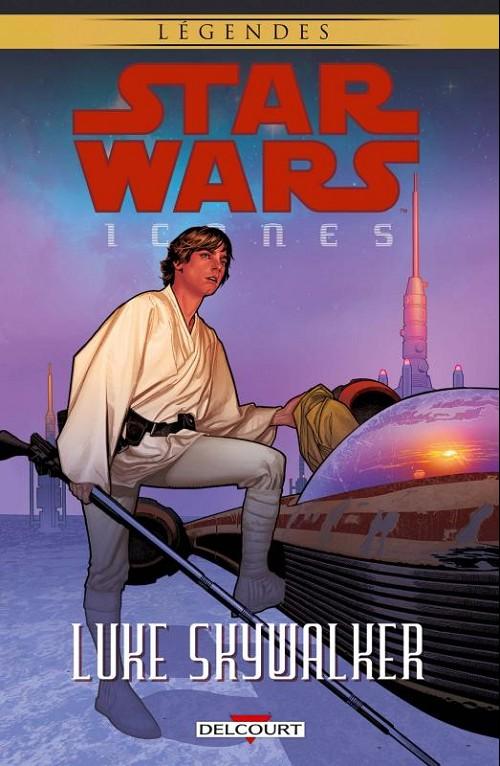 Couverture de Star Wars - Icones -3- Luke Skywalker