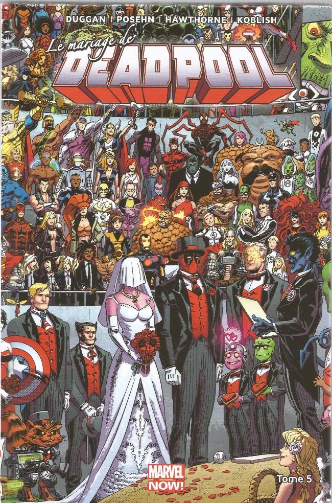 Couverture de Deadpool (Marvel Now!) -5- Le Mariage de Deadpool