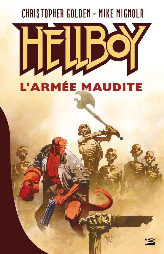 Couverture de Hellboy (Delcourt) -RO1- L'Armée maudite