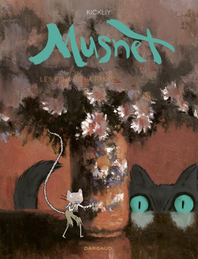 Couverture de Musnet -3- Les feux de la rampe