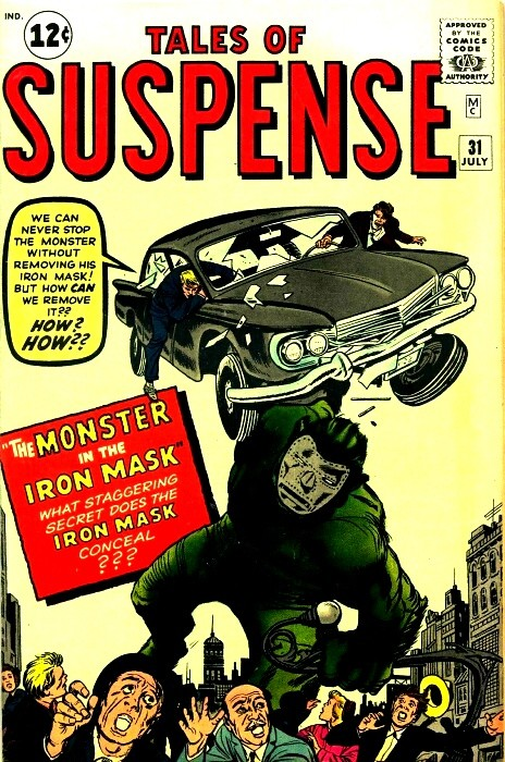 Couverture de Tales of suspense Vol. 1 (Marvel comics - 1959) -31- The Monster in the Iron Mask!