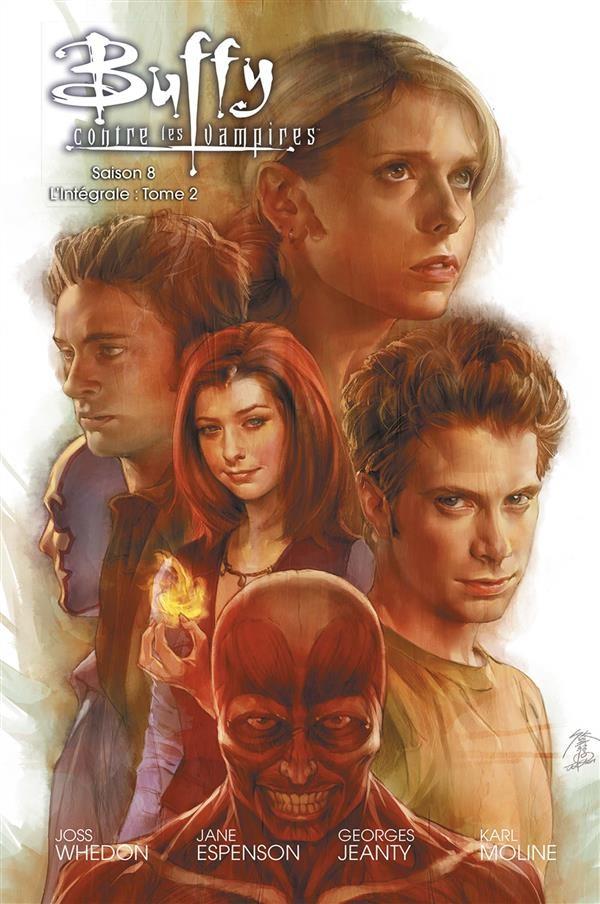 Couverture de Buffy contre les vampires - Saison 08 -INT2- L'Intégrale : Tome 2
