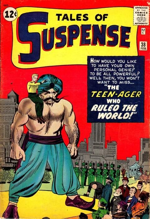 Couverture de Tales of suspense Vol. 1 (Marvel comics - 1959) -38-