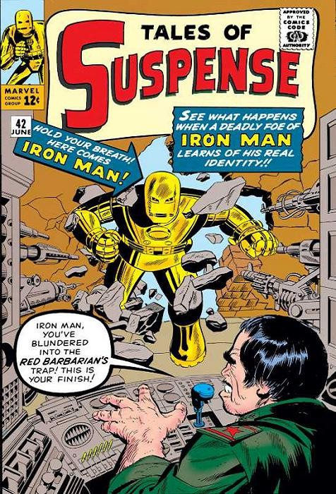 Couverture de Tales of suspense Vol. 1 (Marvel comics - 1959) -42- Trapped by the Red Barbarian
