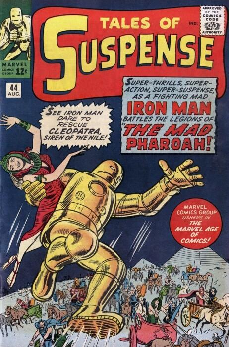 Couverture de Tales of suspense Vol. 1 (Marvel comics - 1959) -44- The Mad Pharoah!
