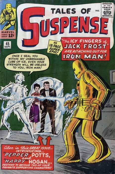 Couverture de Tales of suspense Vol. 1 (Marvel comics - 1959) -45-