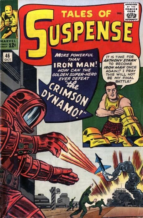 Couverture de Tales of suspense Vol. 1 (Marvel comics - 1959) -46- The Crimson Dynamo!