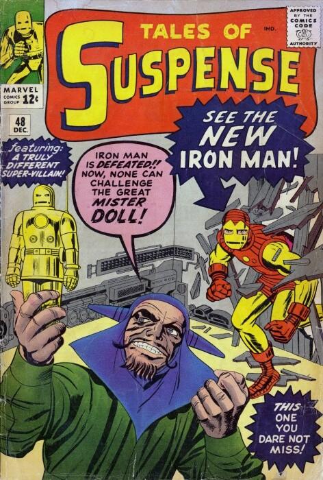 Couverture de Tales of suspense Vol. 1 (Marvel comics - 1959) -48- The Mysterious Mr. Doll!