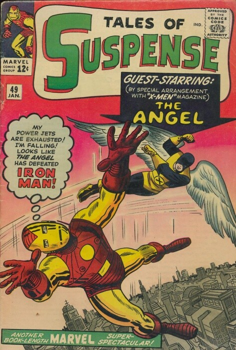 Couverture de Tales of suspense Vol. 1 (Marvel comics - 1959) -49- The New Iron Man Meets the Angel!