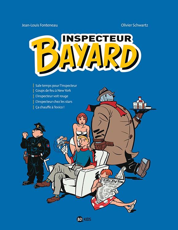Couverture de Les enquêtes de l'inspecteur Bayard -INT3- Tome 3