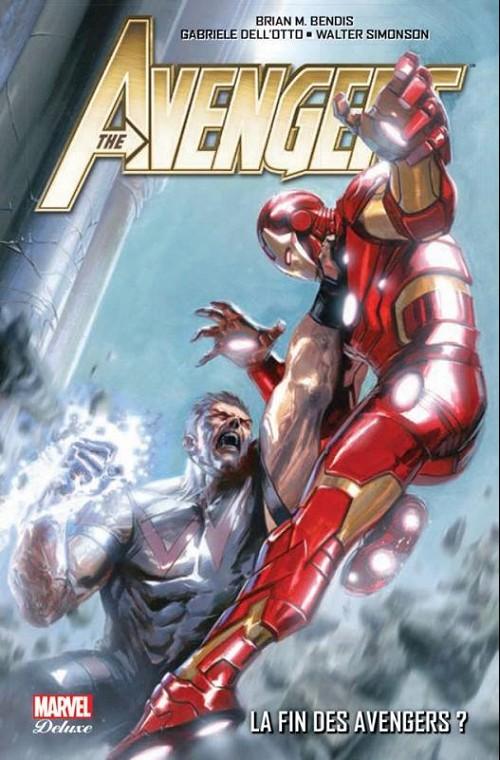 Couverture de Avengers (Marvel Deluxe) - La fin des avengers ?