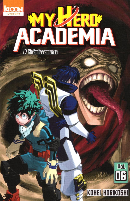 Couverture de My Hero Academia -6- Frémissements