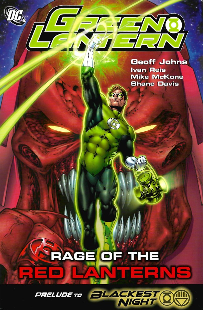 Couverture de Green Lantern (2005) -INT05- Rage of the Red Lanterns