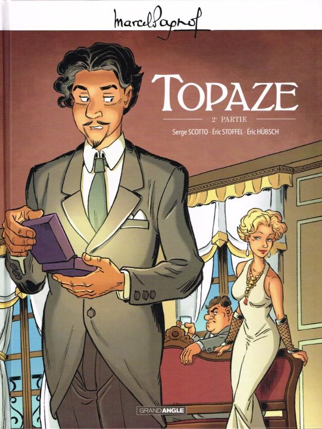 Couverture de Topaze -2- 2e partie