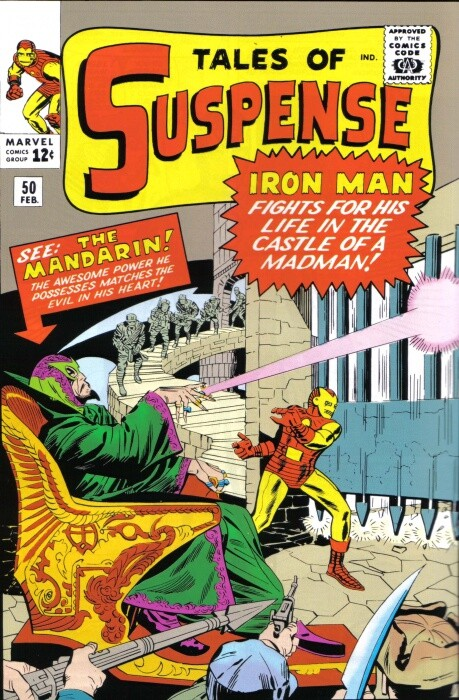 Couverture de Tales of suspense Vol. 1 (Marvel comics - 1959) -50- The Hands of the Mandarin!