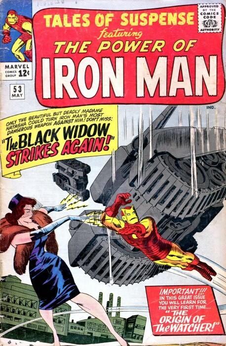 Couverture de Tales of suspense Vol. 1 (Marvel comics - 1959) -53- The Black Widow Strikes Again!