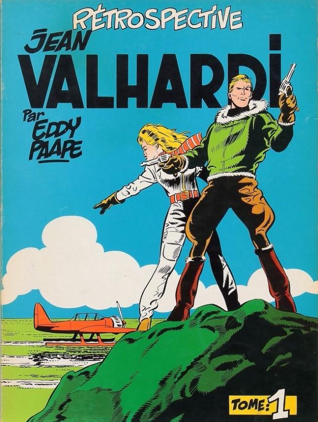 Couverture de Valhardi -1DEL- Rétrospective Jean Valhardi