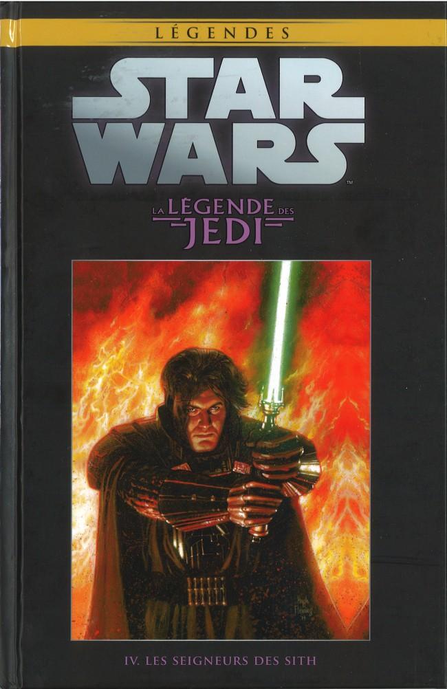 Couverture de Star Wars - Légendes - La Collection (Hachette) -287- La Légende des Jedi - IV. Les Seigneurs des Sith