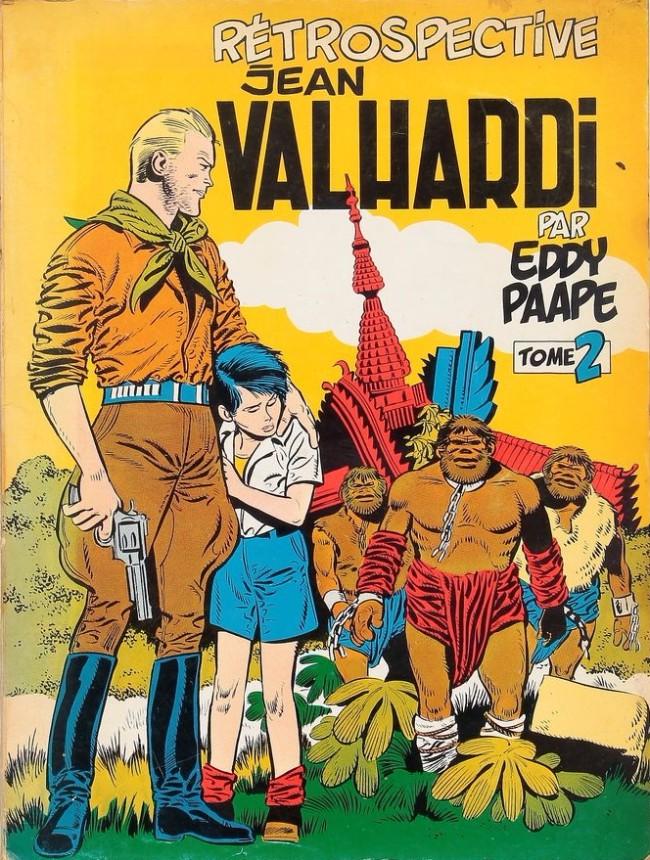 Couverture de Valhardi -2DEL- Rétrospective Jean Valhardi 2