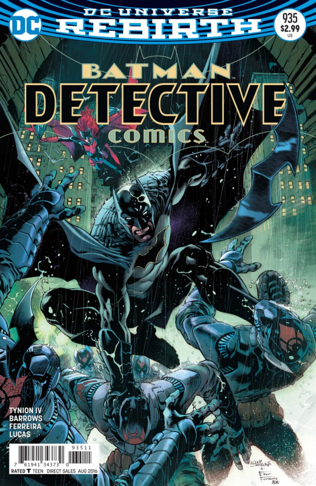 Couverture de Detective Comics (1937), Période Rebirth (2016) -935- Rise of the Batmen - Part 2
