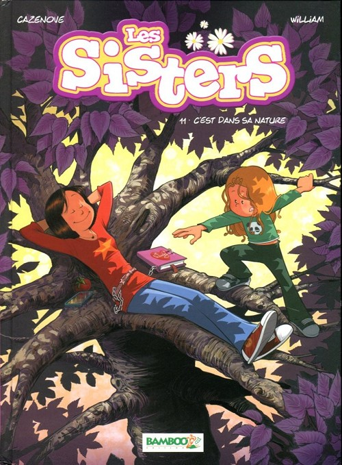 Couverture de Les sisters -11- C'est dans sa nature